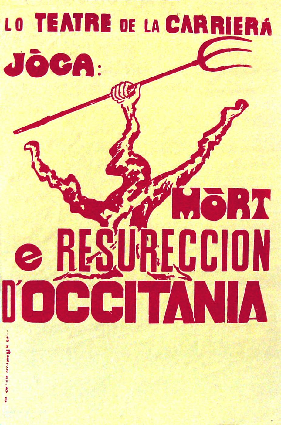 Mort et Résurrection de M. Occitania / Teatre de la Carrièra
