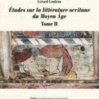Études sur la littérature occitane du Moyen Âge, Tome II