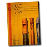 Méthode de flûte à 3 trous et tambourin à cordes