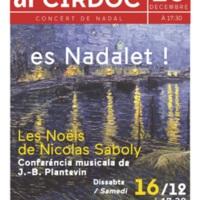 Es Nadalet au CIRDOC : « Les Noëls de Nicolas Saboly » - Conférence musicale de J.-B. et T.Plantevin