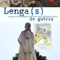 Inauguracion de l'exposicion <em>Lenga(s) de gu&egrave;rra</em> : festenal Mascaret de Pessac (33)