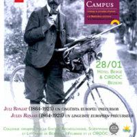 Colloque : « Jules Ronjat (1864-1925) un linguiste européen précurseur »