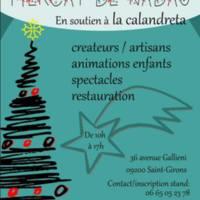 Marché de Noël en soutien à la Calandreta (09)