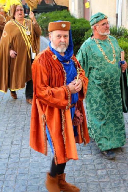 Personnages historiques: Pierre de Cournon et sénéchal de Beaucaire. Photo. Anna Wasniowska